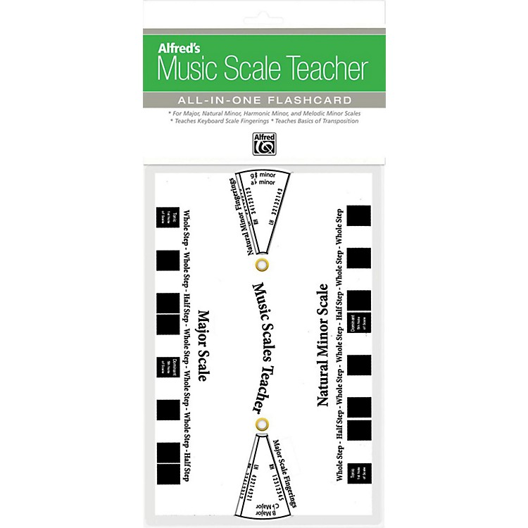 Alfred Music Scale Teacher: All-In-One Flashcard White