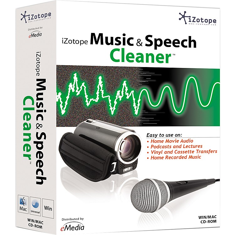 iZotope Music & Speech Cleaner Software
