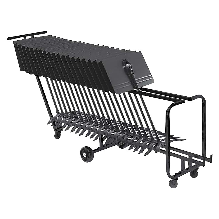 ManhassetMusic Stand Storage Cart (Holds 25)
