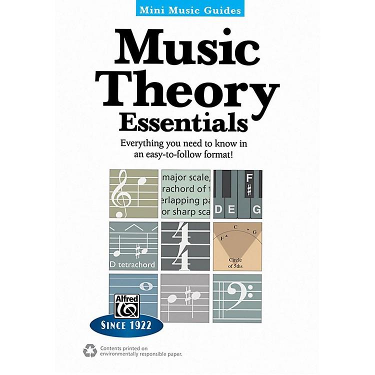 AlfredMusic Theory Essentials Mini Music Guides Book