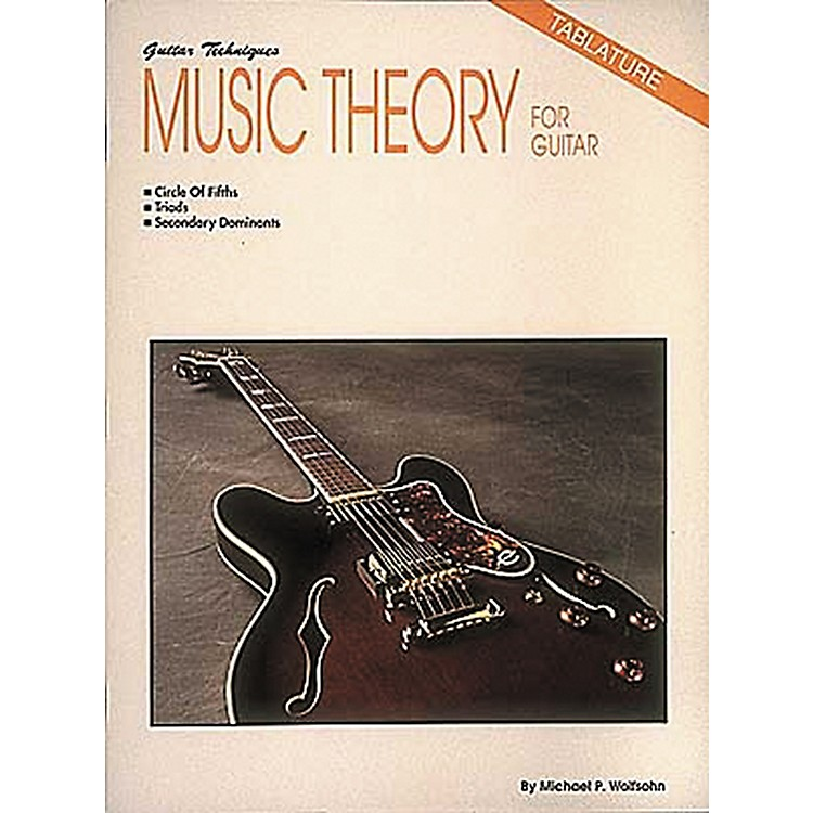 Hal Leonard Music Theory for Guitar Book