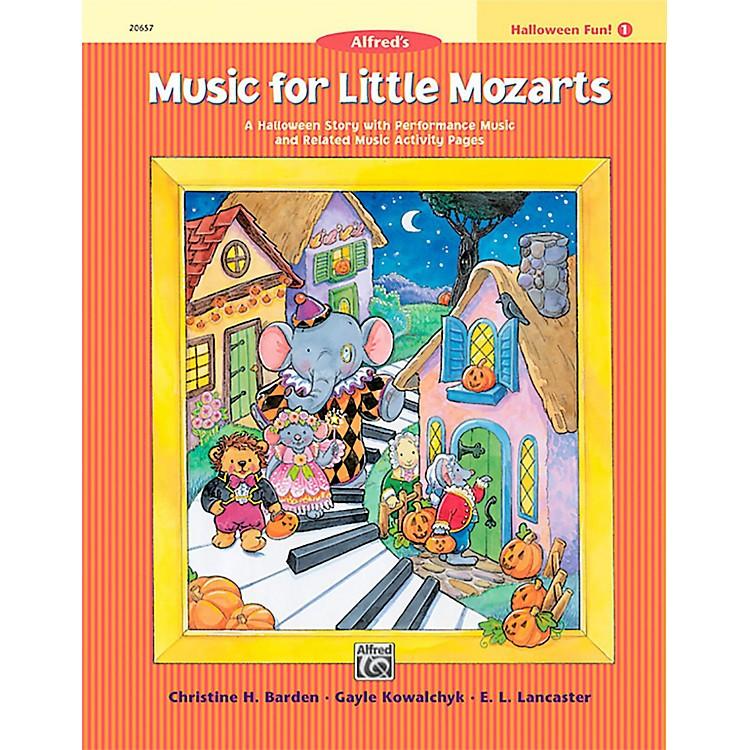 AlfredMusic for Little Mozarts: Halloween Fun Book 1