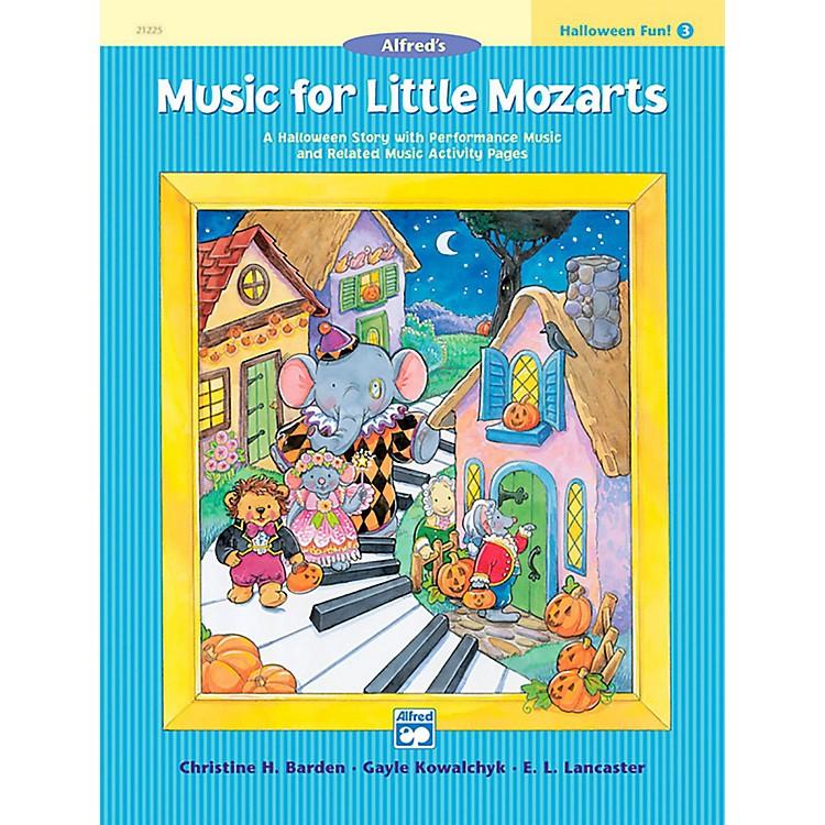 AlfredMusic for Little Mozarts: Halloween Fun Book 3