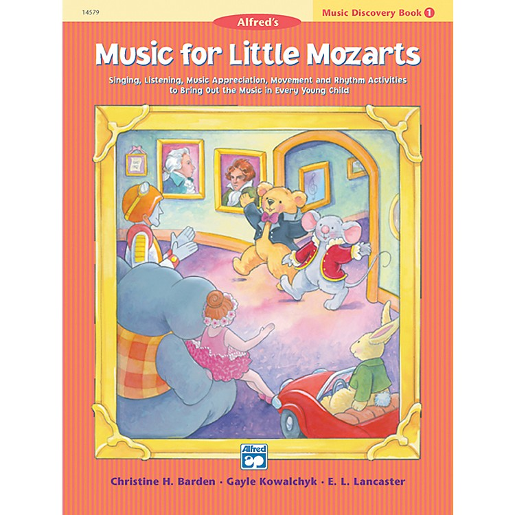 Alfred Music for Little Mozarts Music Discovery Book 1