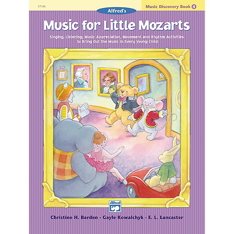Alfred Music for Little Mozarts: Music Discovery Book 4