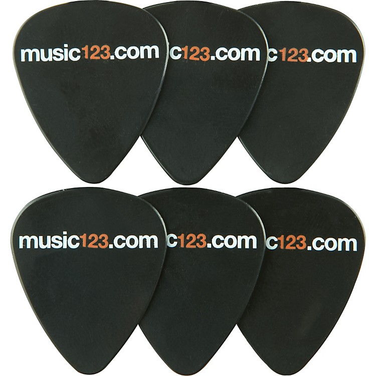Music123 Music123 ABS Guitar Picks - 6 Pack