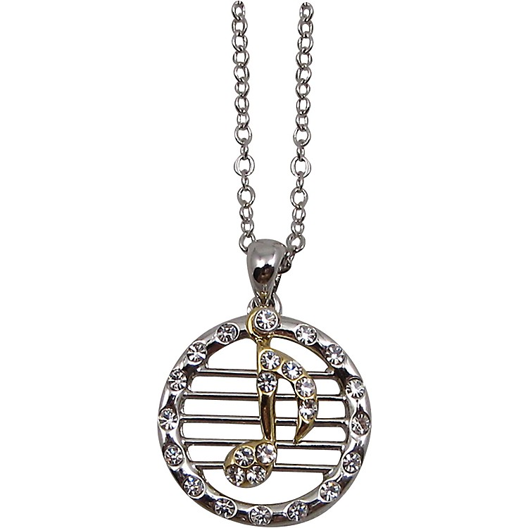 AIMMusical Note/Staff Necklace