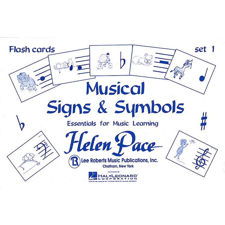 Hal LeonardMusical Signs And Symbols Set I 24 Cards 48 Sides Flash Cards Moppet
