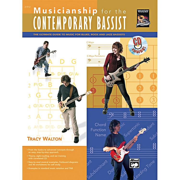 AlfredMusicianship for the Contemporary Bassist Book & CD