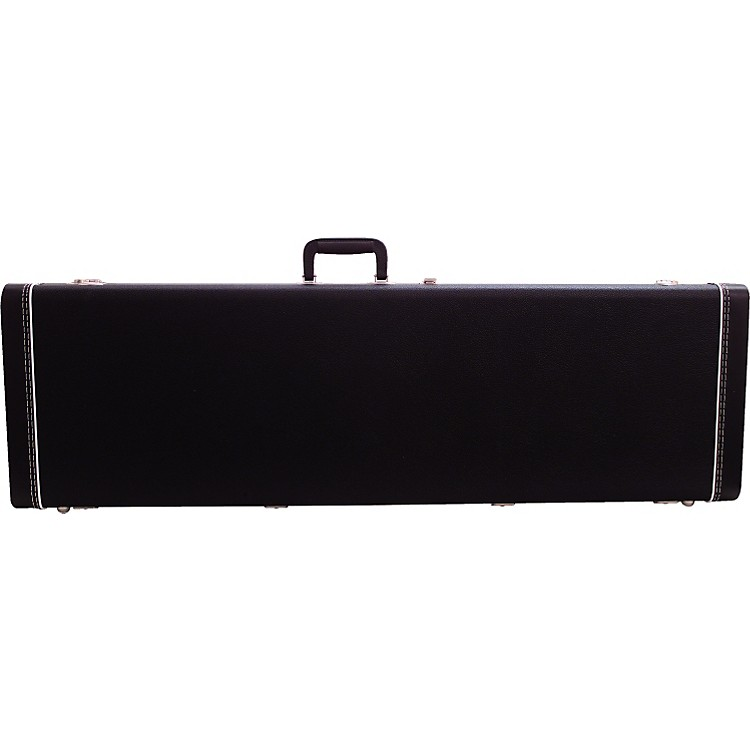 Fender Mustang Bass Guitar Case Black Black