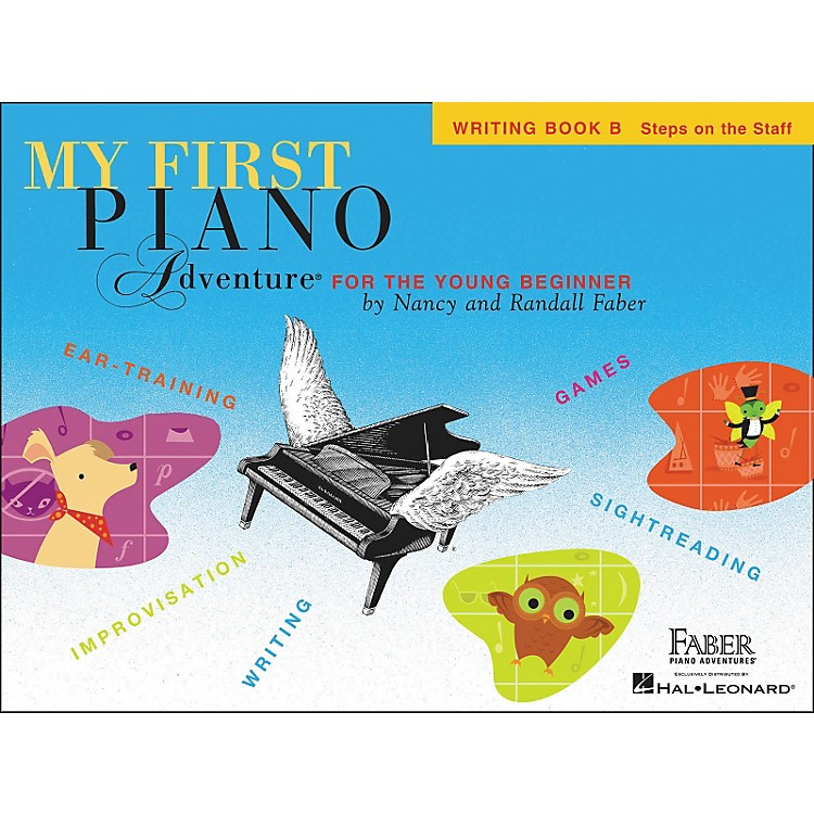 Faber Music My First Adventure Writing Book B for The Young Beginner - Faber Piano