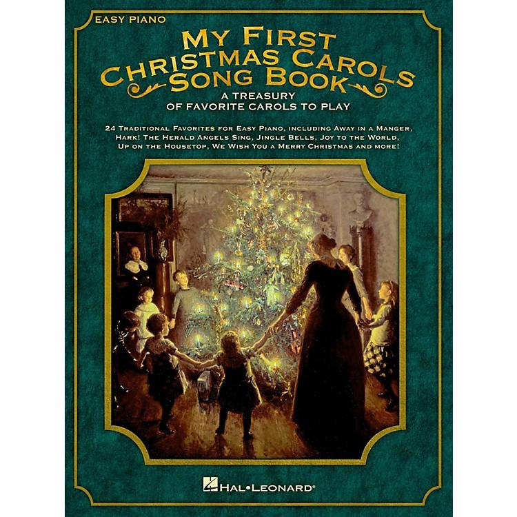 Hal LeonardMy First Christmas Carols Songbook - A Treasury of Favorite Carols to Play