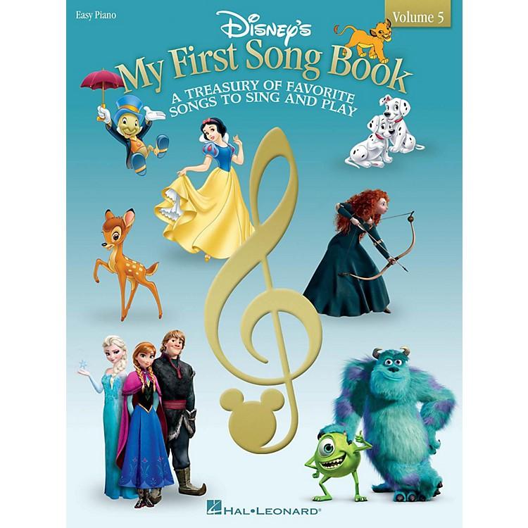 Hal LeonardMy First Disney Song Book - Volume 5 Easy Piano Songbook