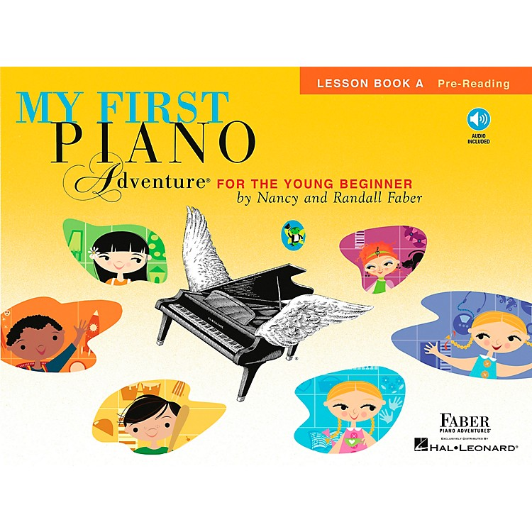 Faber Piano Adventures My First Piano Adventure For The Young Beginner Lesson Bk A Pre-reading With Book/CD