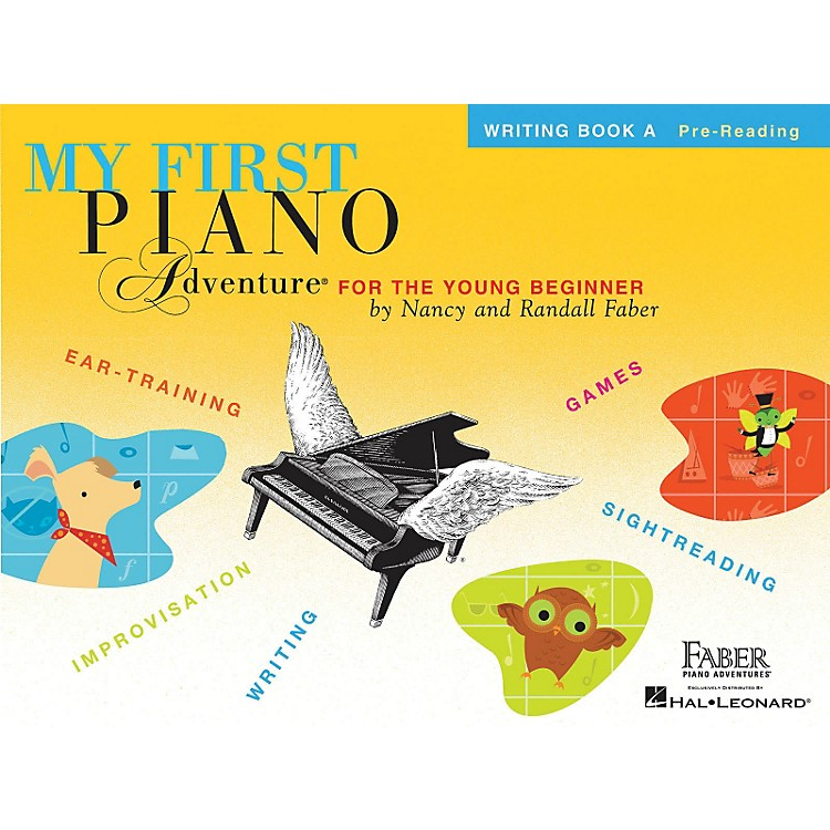 Faber Music My First Piano Adventure Writing Book A Pre-Reading