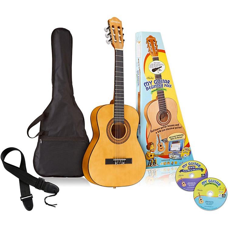 EmediaMy Guitar 3/4 Nylon-String Beginner Acoustic Guitar Pack