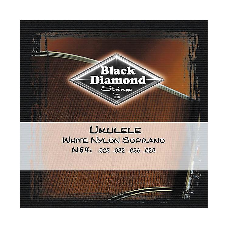 Black DiamondN54 White Nylon Soprano Ukulele Strings