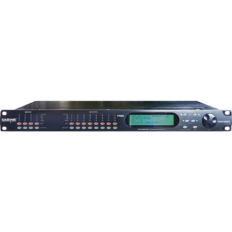 SabineNAV4800 Navigator System Processor4-in, 8-outWith Ethernet Option