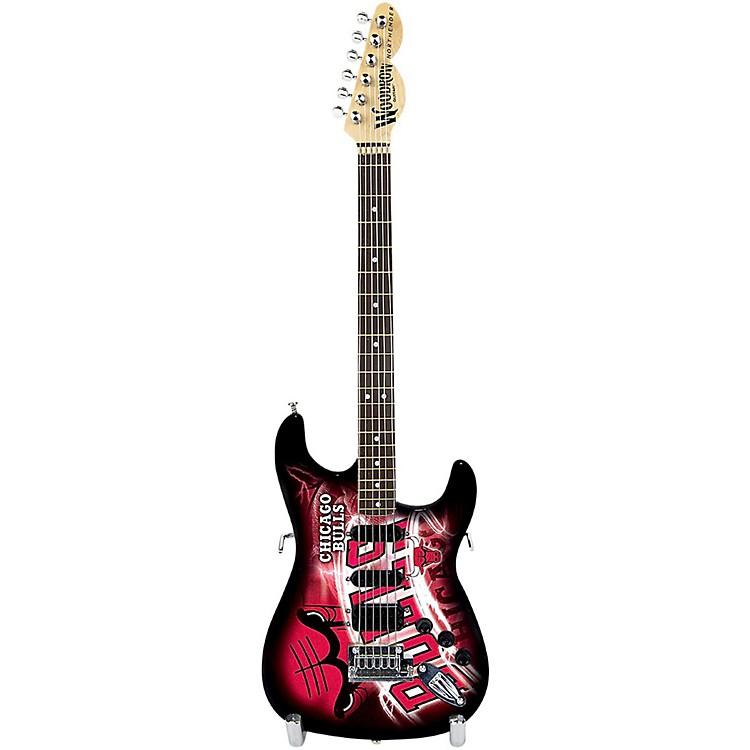 Woodrow GuitarsNBA 10 Inch Mini Guitar CollectibleChicago Bulls