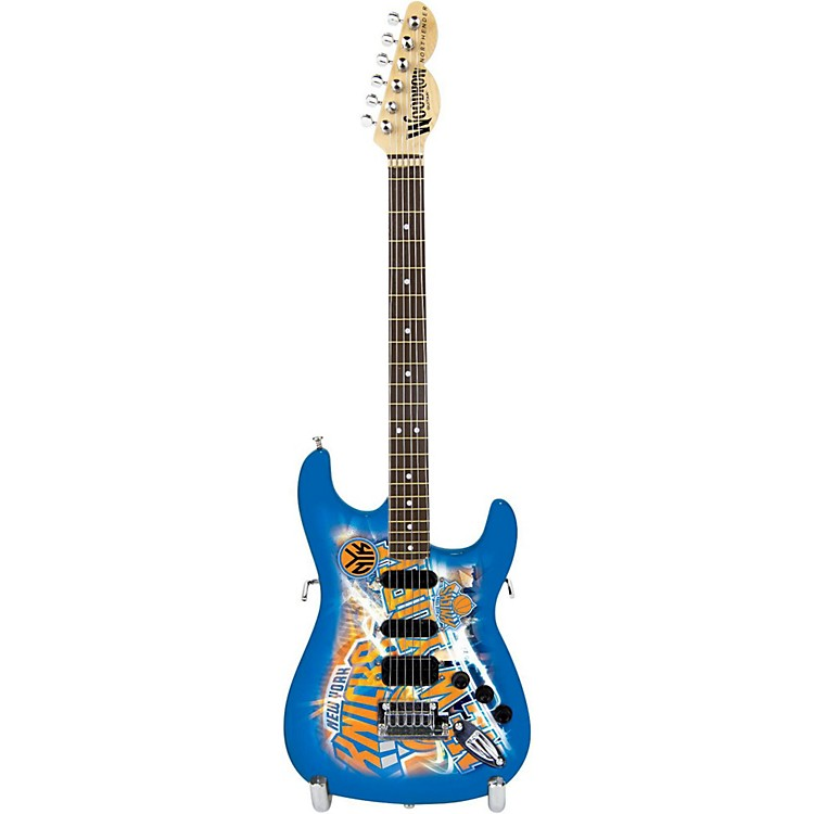 Woodrow GuitarsNBA 10 Inch Mini Guitar CollectibleNew York Knicks