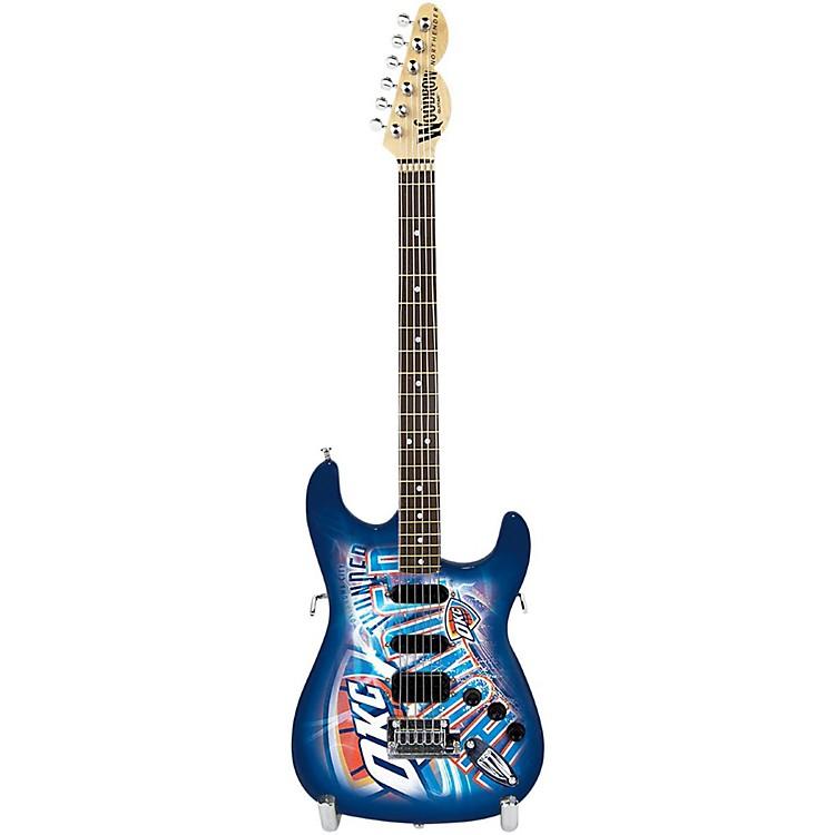 Woodrow GuitarsNBA 10 Inch Mini Guitar CollectibleOklahoma City Thunder