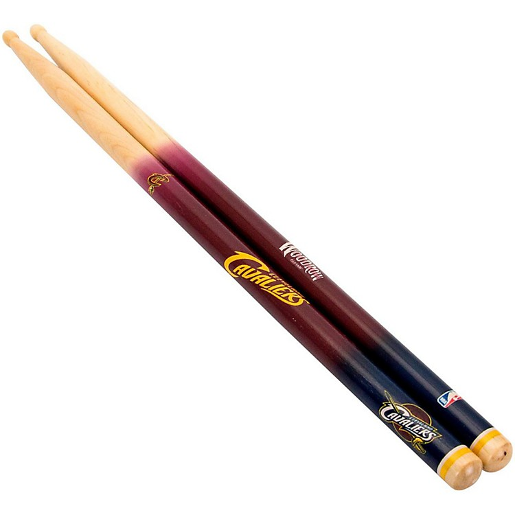 Woodrow Guitars NBA Collectible Drum Sticks Cleveland Cavaliers 5A