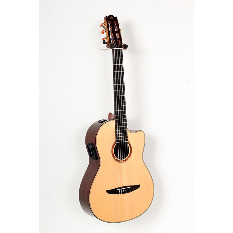 Yamaha NCX1200R Acoustic-Electric Classical Guitar Natural 888365721361