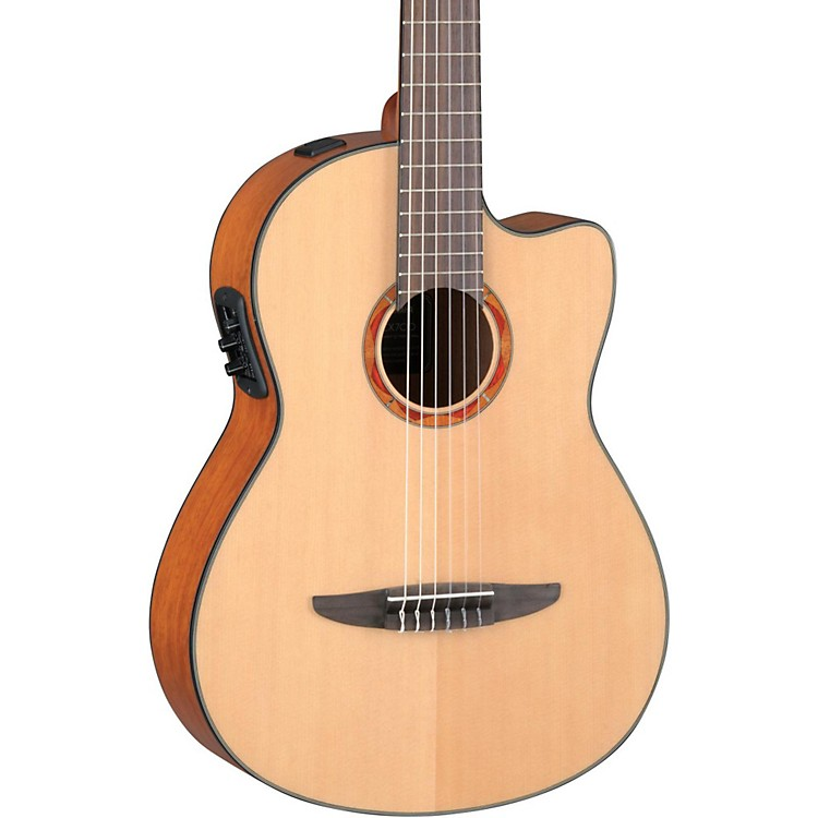 Yamaha NCX700 Acoustic-Electric Classical Guitar Natural