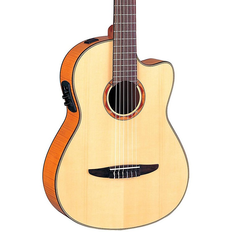 Yamaha NCX900 Acoustic-Electric Classical Guitar Flamed Maple