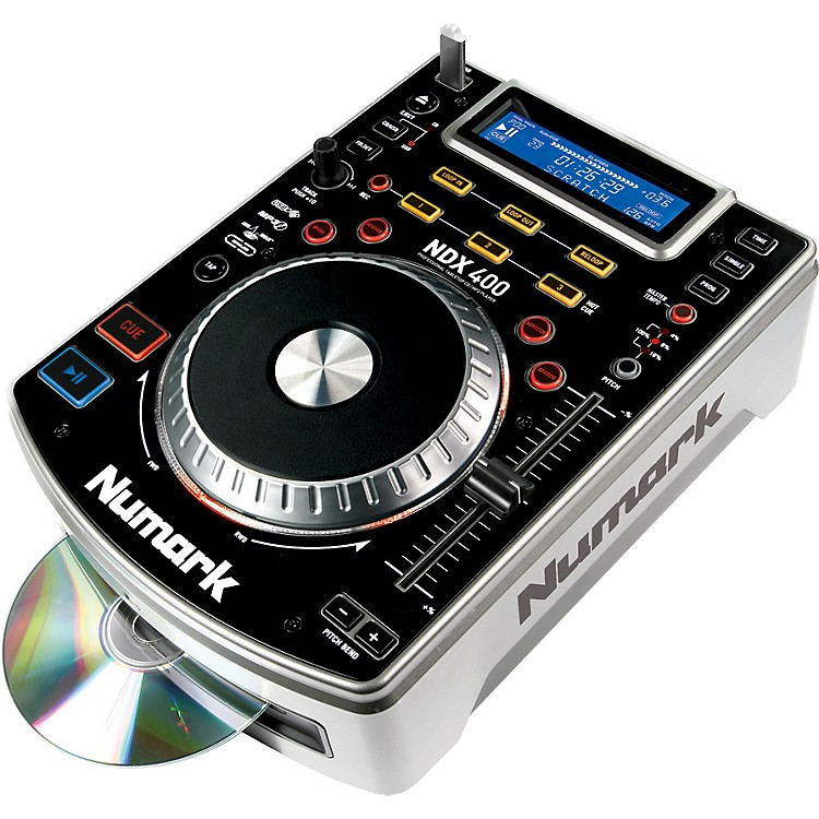 NumarkNDX400 Tabletop Scratch CD Player