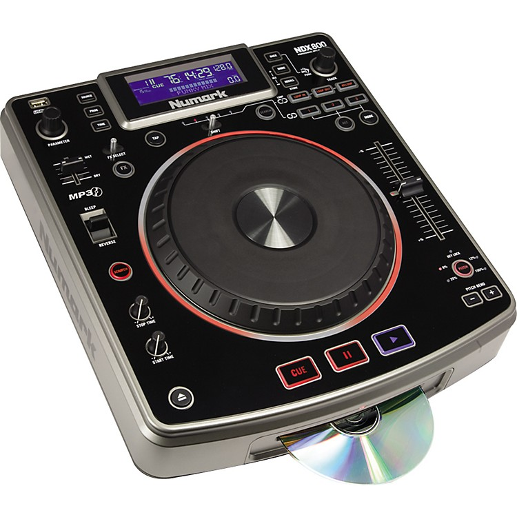 Numark NDX800 Professional MP3/CD/USB Player and Controller