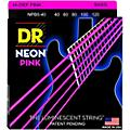 DR Strings NEON Hi-Def Pink Bass SuperStrings Light 5-String