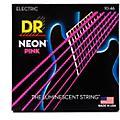 DR Strings NEON Hi-Def Pink SuperStrings Medium Electric Guitar Strings