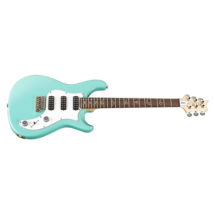 PRS NF3 with Bird Inlays Electric Guitar Sea Foam Green Rosewood Fretboard