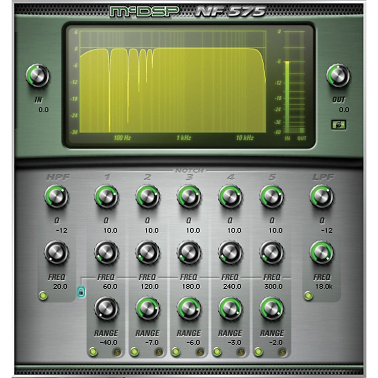 McDSP NF575 Noise Filter HD v5 Software Download Software Download