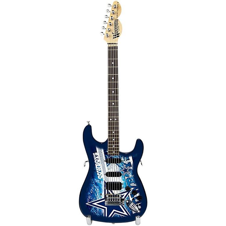 Woodrow GuitarsNFL 10-In Mini Guitar CollectibleDallas Cowboys