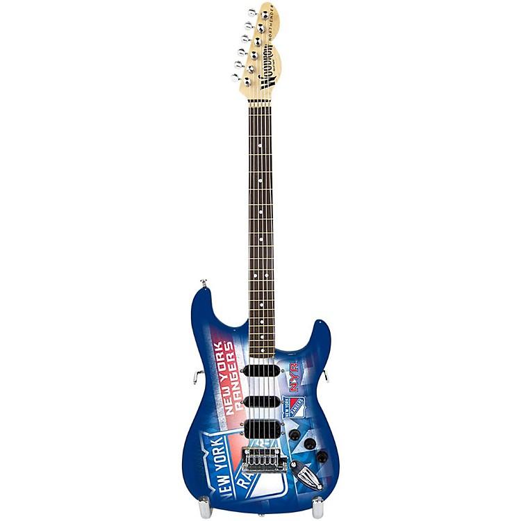 Woodrow GuitarsNHL 10 Inch Mini Guitar CollectibleNew York Rangers