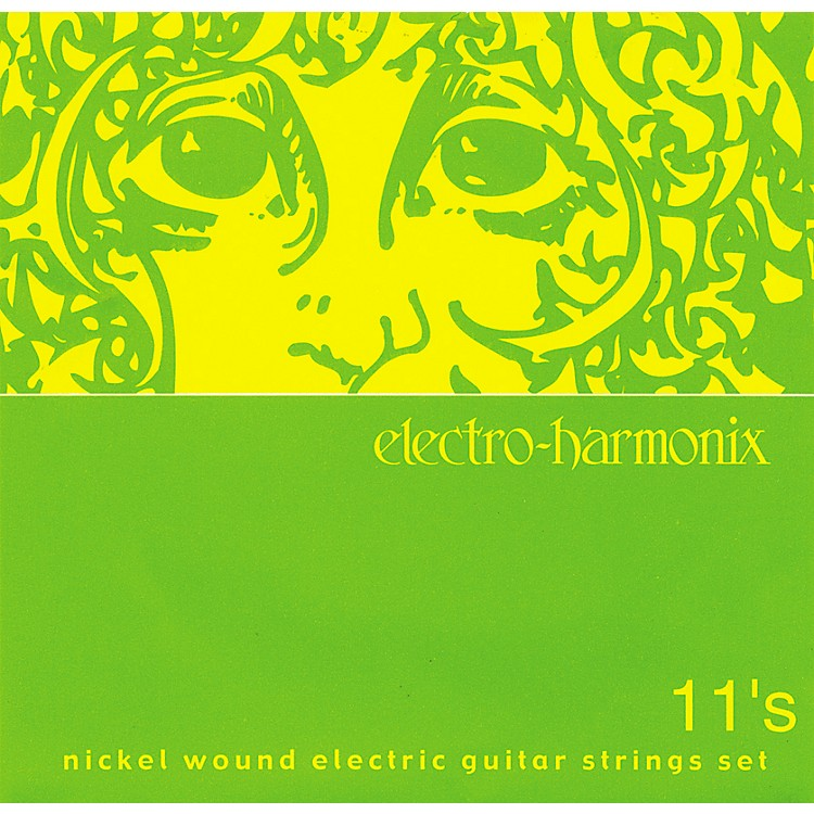 Electro-Harmonix NIC11 Nickel Wound Medium Electric Guitar Strings