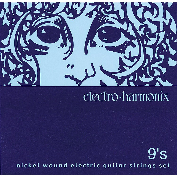 Electro-Harmonix NIC9 Nickel Wound Ultra Light Electric Guitar Strings