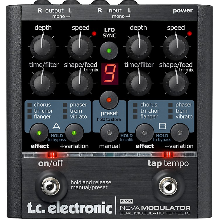 TC ElectronicNM-1 Nova Modulator Modulation Guitar Effects Pedal