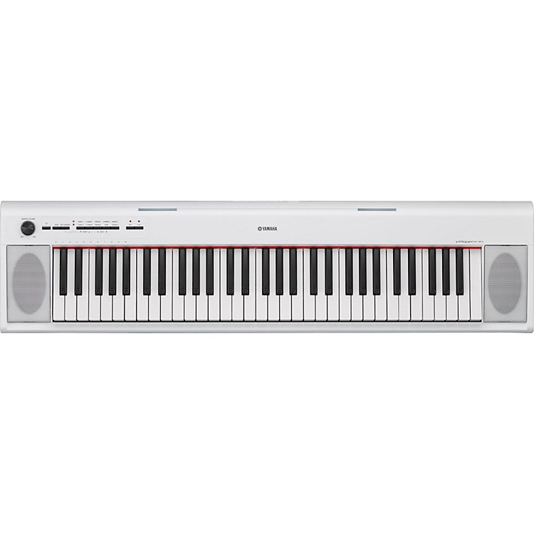 YamahaNP12 61-Key Entry-Level Piaggero Ultra-Portable Digital PianoWhite