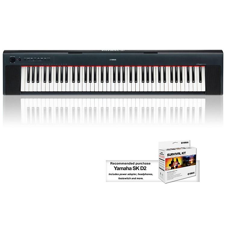 YamahaNP31 76-Key Mid-Level Piaggero Ultra-Portable Digital Piano