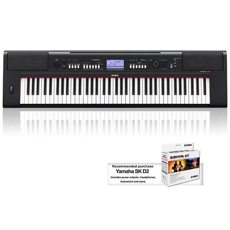 YamahaNPV60 76-Key Mid-Level Piaggero Ultra-Portable Digital Piano