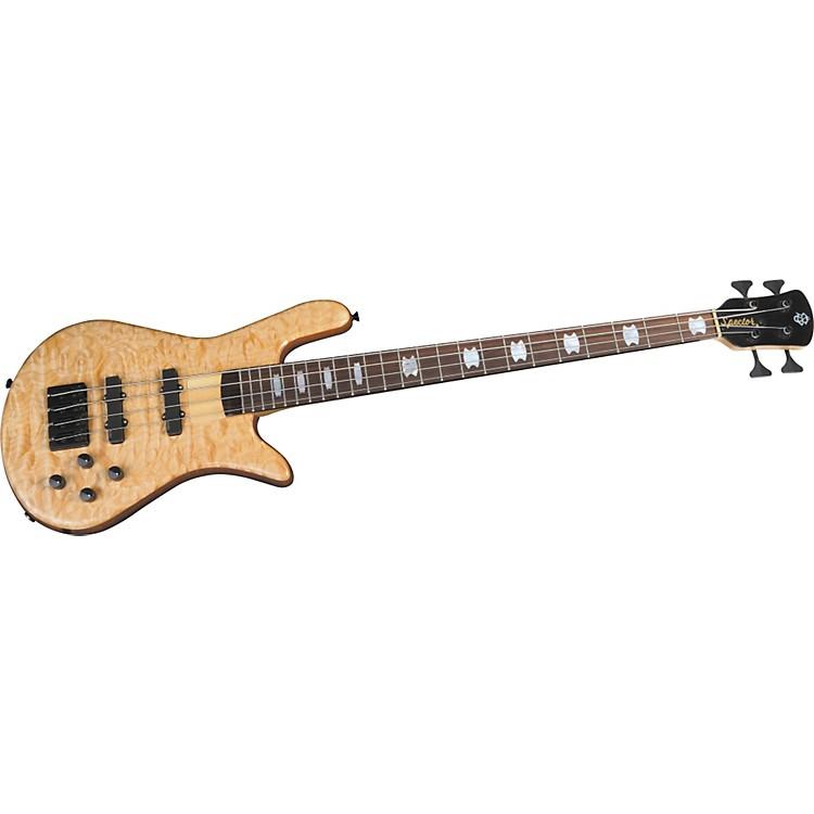SpectorNS-4H2-FM USA 4-String Bass GuitarNatural OilBlack Hardware
