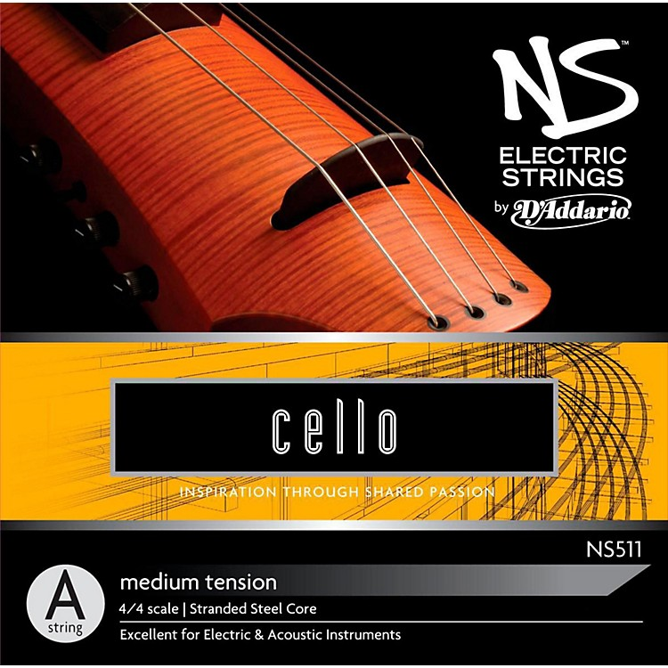 D'AddarioNS Electric Cello A String