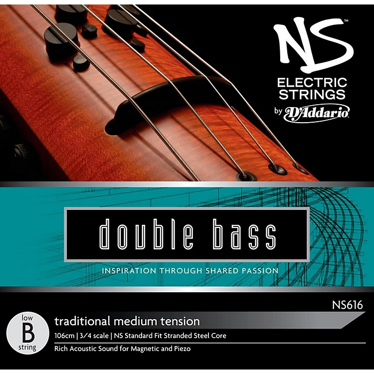 D'AddarioNS Electric Traditional Bass Single Low B String