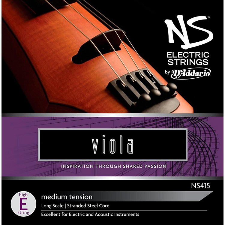 D'Addario NS Electric Viola High E String