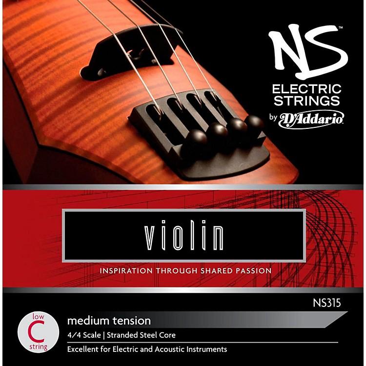 D'AddarioNS Electric Violin StringLow C