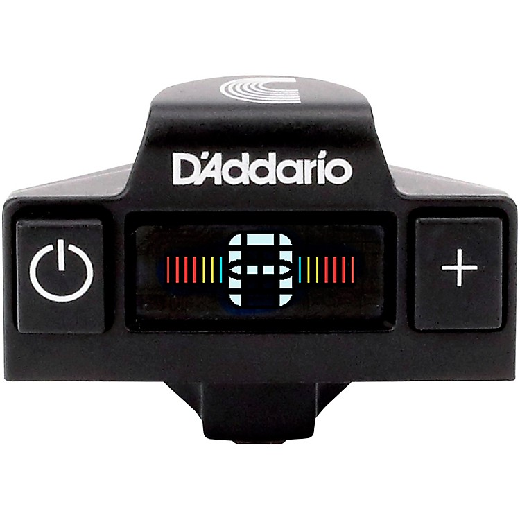 D'Addario NS Micro Acoustic Soundhole Tuner - Color Screen Black