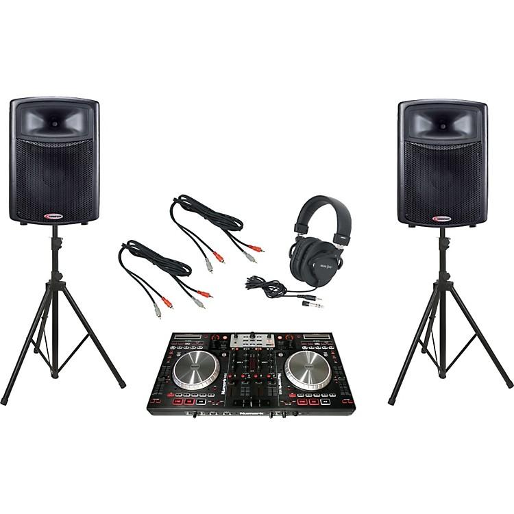 NumarkNS6 / Harbinger APS15 DJ Package